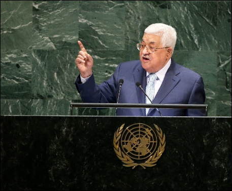 Palestinian president says to reconsider deals with Israel, US
