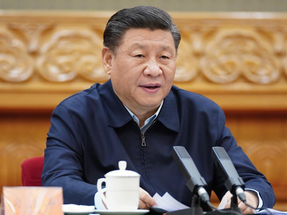Xi chairs leadership meeting on regular epidemic response, industrial and supply chains