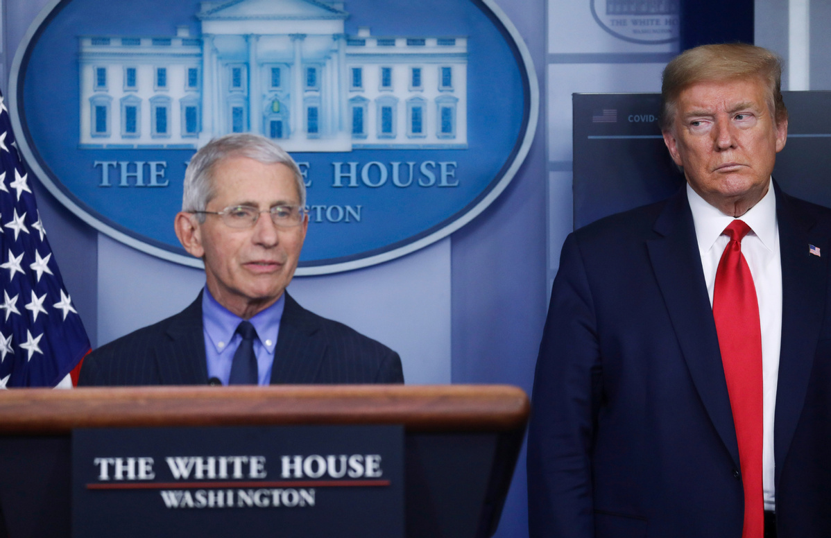 Trump orders school reopening, criticizes Fauci's warning