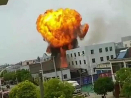 8 injured, 2 trapped in east China factory blast