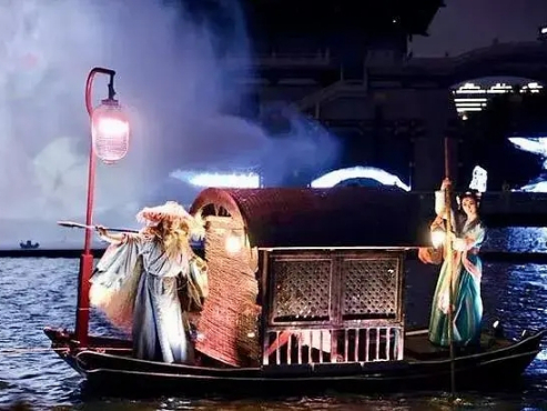 Dreaming of Tang Dynasty Show Resumed in Xi'an