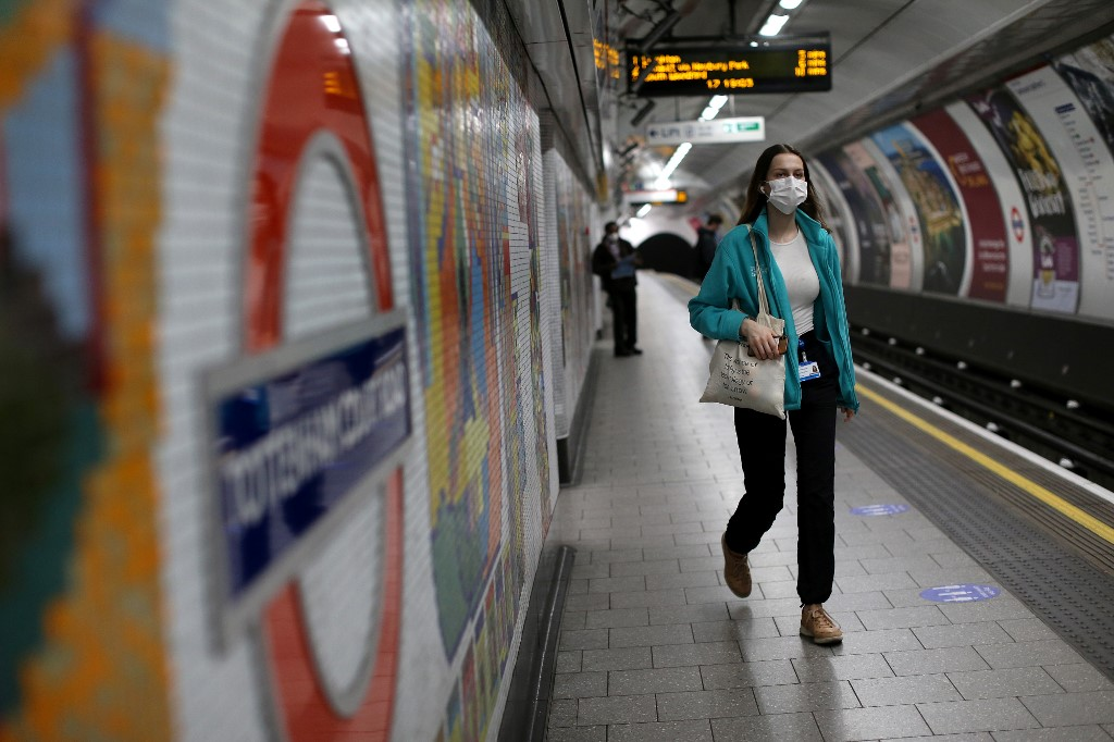 UK govt in £1.6bn bailout of London transport system