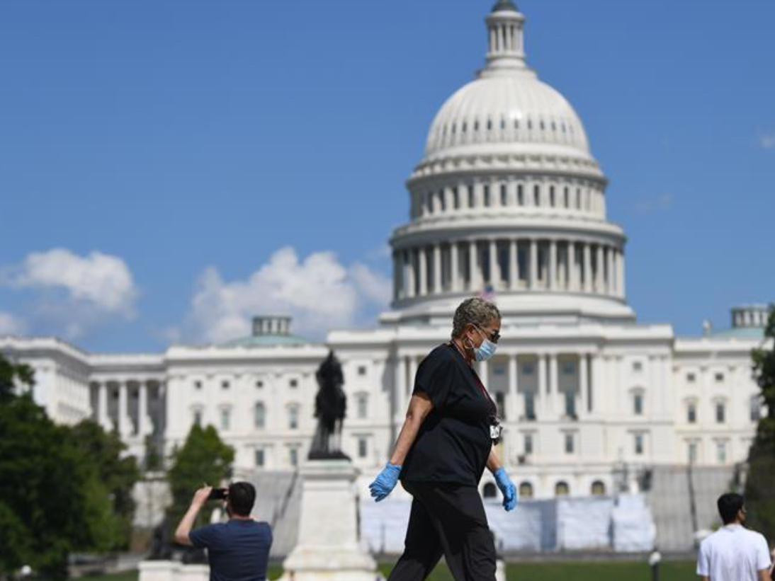 US House passes 3-tln-USD coronavirus relief package amid Republican opposition