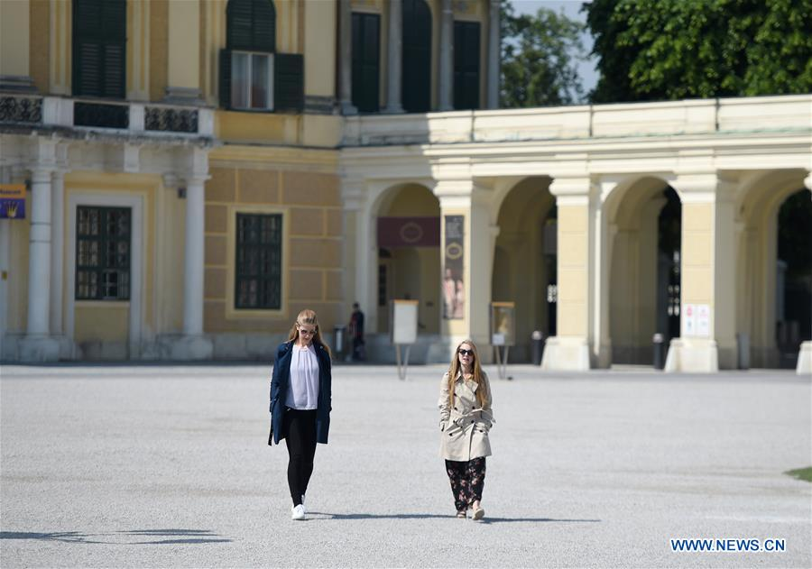 Vienna's Schonbrunn Palace reopens after COVID-19 restrictions ease