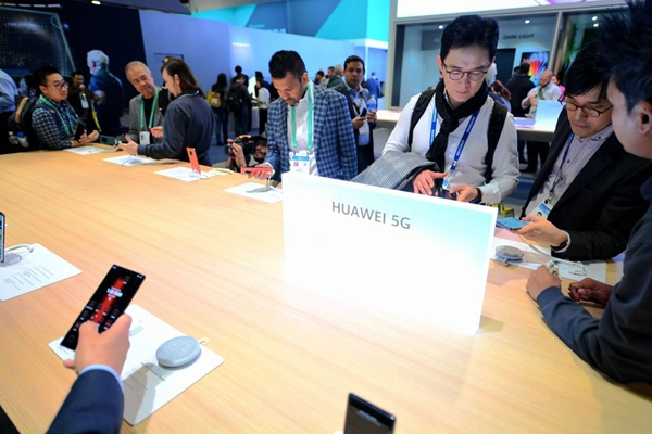 China firmly opposes US restrictions on Chinese tech giant Huawei