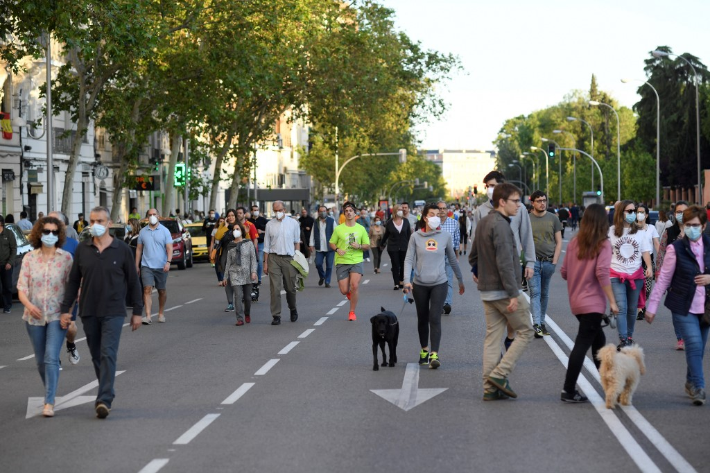 Spain continues slow progress towards 'new normality' as COVID-19 eases