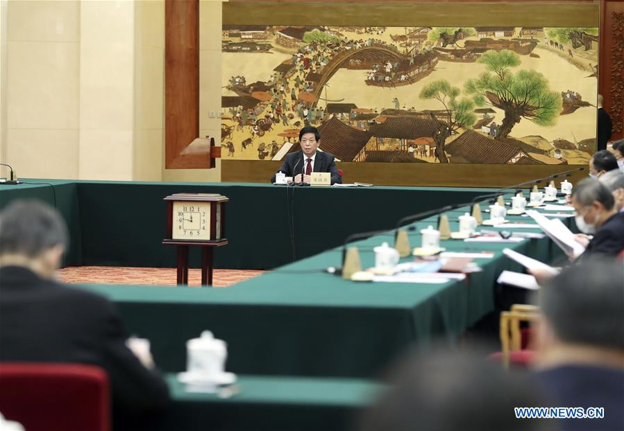 China's top legislature prepares for annual session