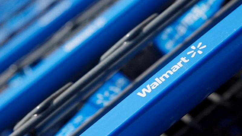Walmart reports higher profits on surge in online sales