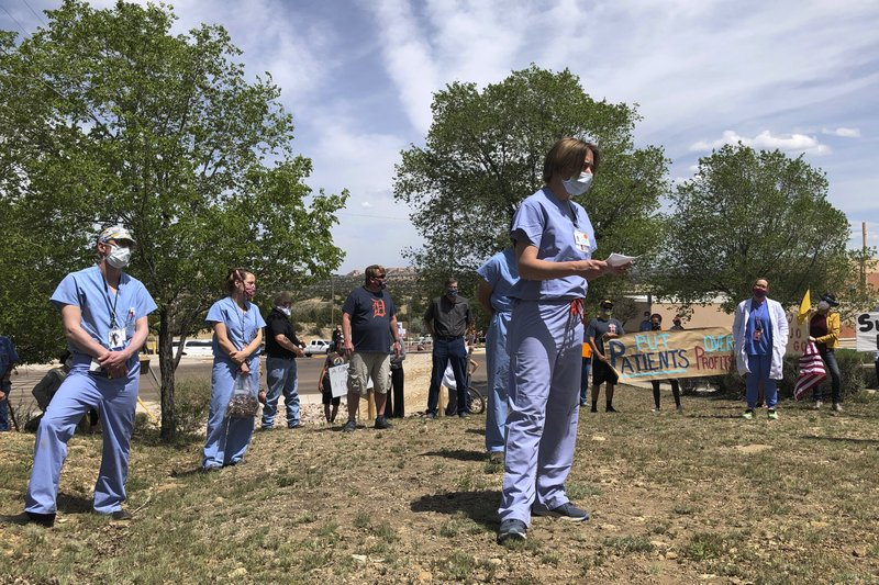 Outbreak on edge of Navajo Nation overwhelms rural hospital