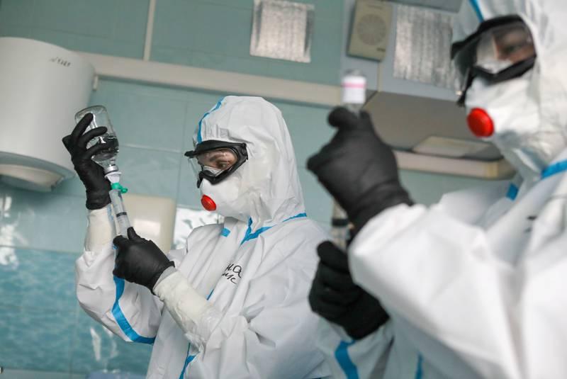 Russia reports record virus death toll virus   health