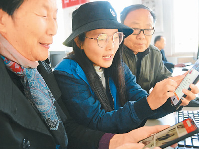 More middle-aged, senior Chinese citizens embrace online shopping