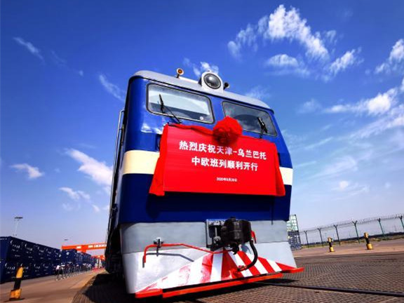Tianjin opens new rail-water freight service