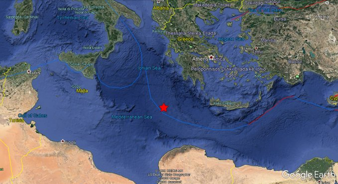5.7-magnitude quake hits Greece: USGS