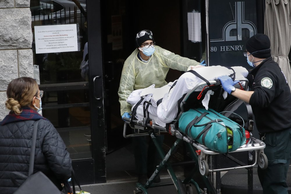 Over 4,300 virus patients sent to NY nursing homes