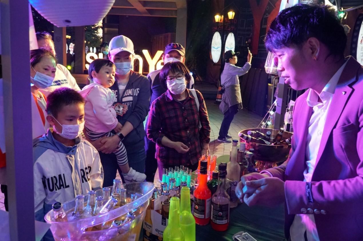 'Sinan Yé' summer carnival opens in Shanghai