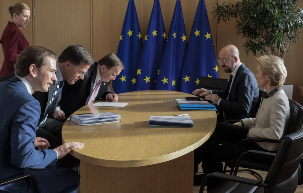 EU 'frugal four' present own proposal for virus aid