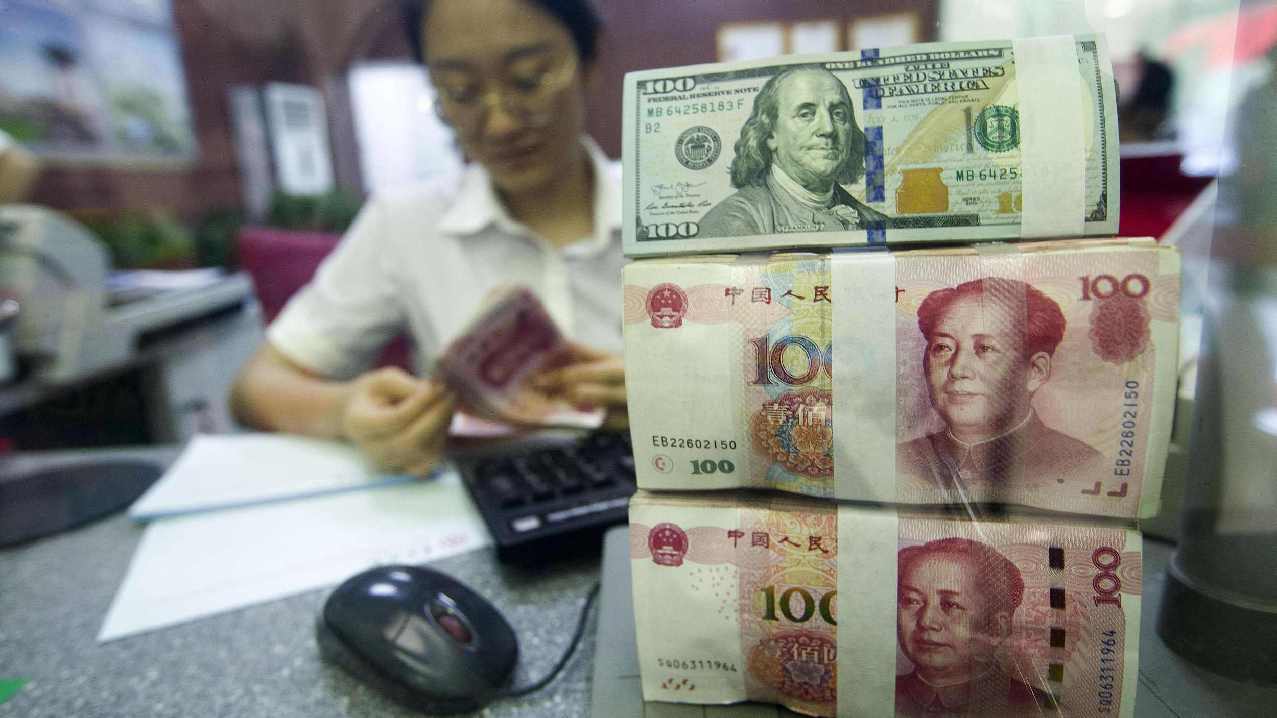 Chinese banks report forex settlement surplus in April