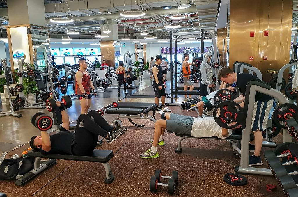 Silver lining for China's fitness industry amid COVID-19 outbreak