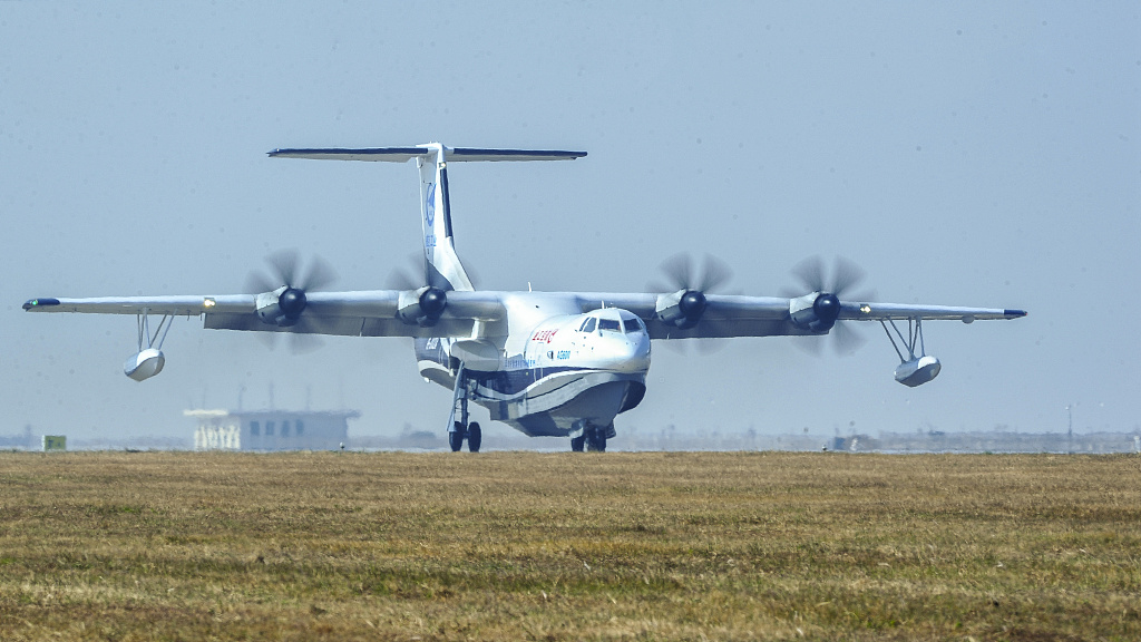 China's homegrown amphibious aircraft to conduct first maritime takeoff