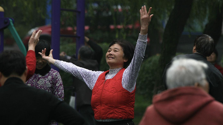 Shanghai sees growing elderly population
