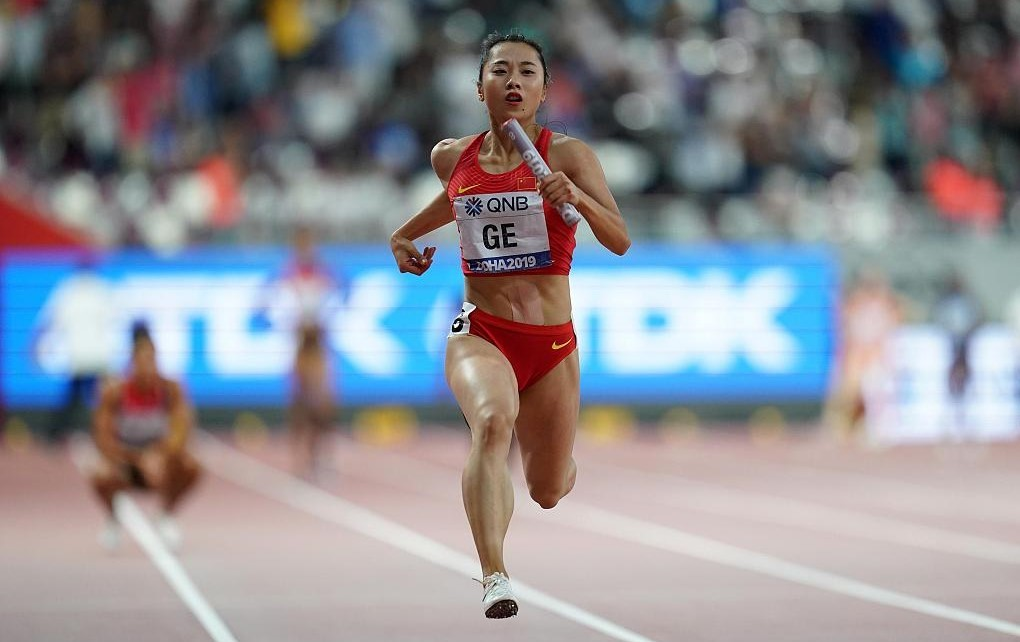 22-year-old Ge Manqi becomes China's new hope in women's sprinting