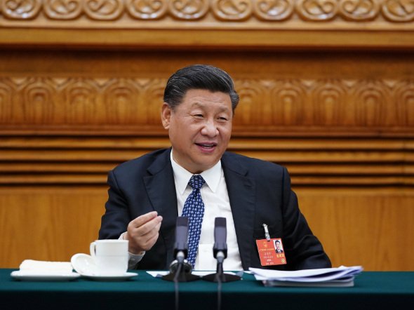 Xi: 'I must join deliberations with the Hubei delegation'