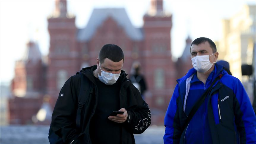 Russian COVID-19 cases exceed 350,000