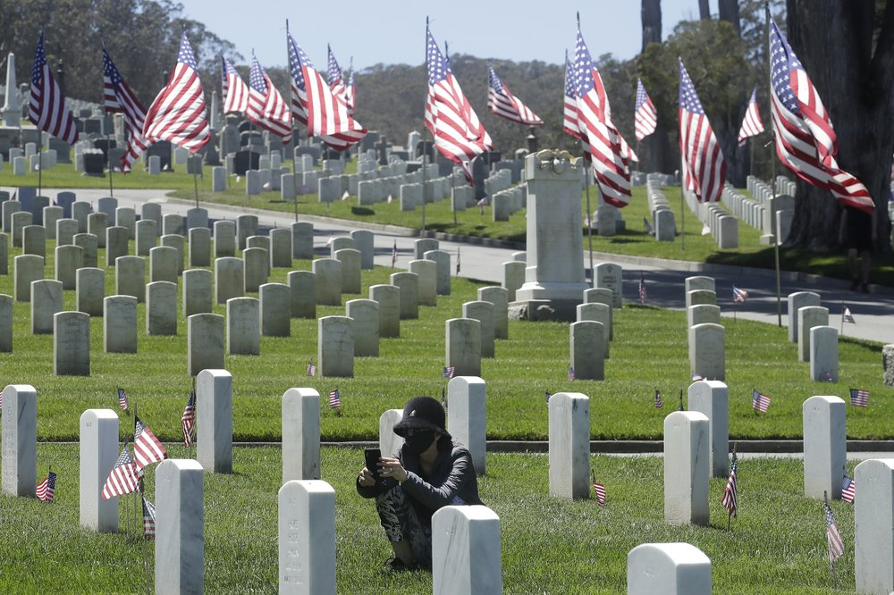 US faces Memorial Day like no other under virus restrictions