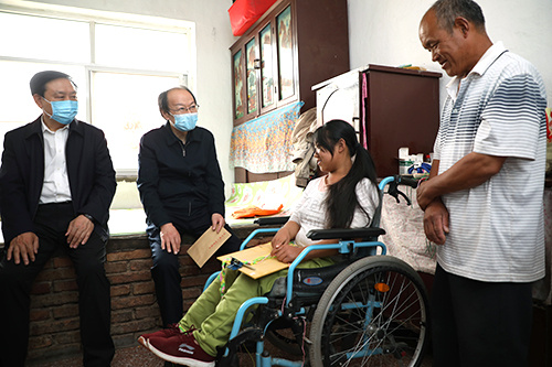China issues guidelines on disabled people's wellbeing amid COVID-19 control