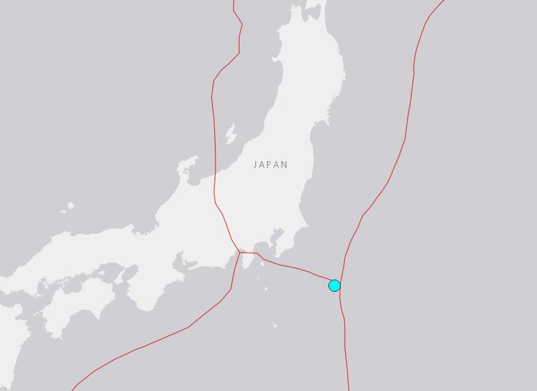5.1-magnitude quake hits 167km SE of Katsuura, Japan: USGS