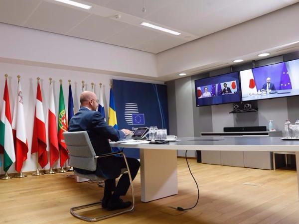 EU, Japan call for solidarity, cooperation and multilateralism to defeat coronavirus