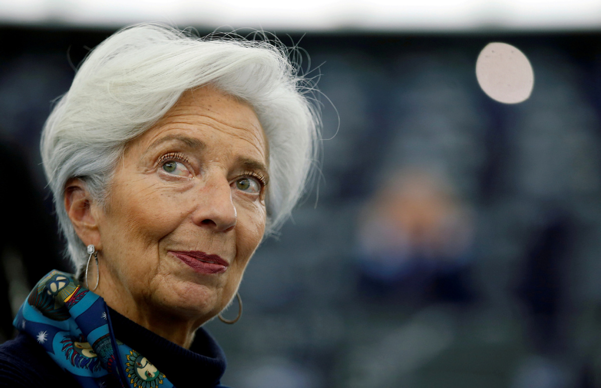 Lagarde says euro area economy likely to shrink between 8 to 12 pct in 2020