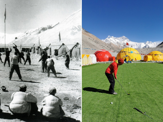 60 years of stories for Chinese mountaineers of Mt. Qomolangma