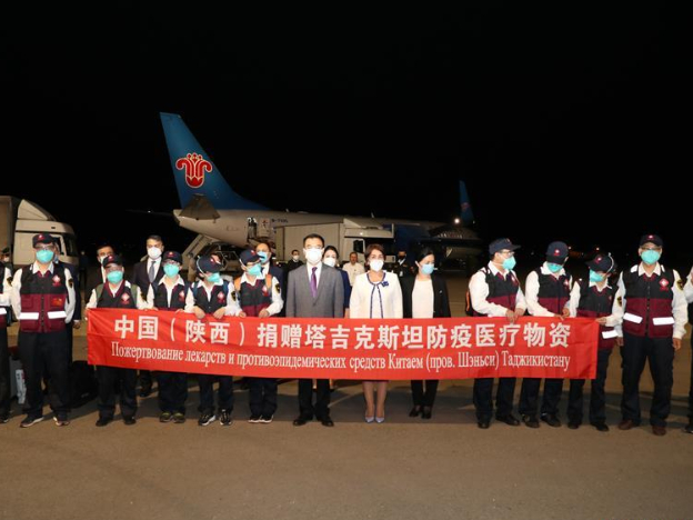 Shaanxi medical experts arrive in Tajikistan