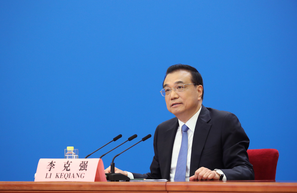 Highlights from Premier Li's news conference