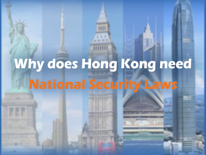 Poster: Why does Hong Kong need National Security Laws?
