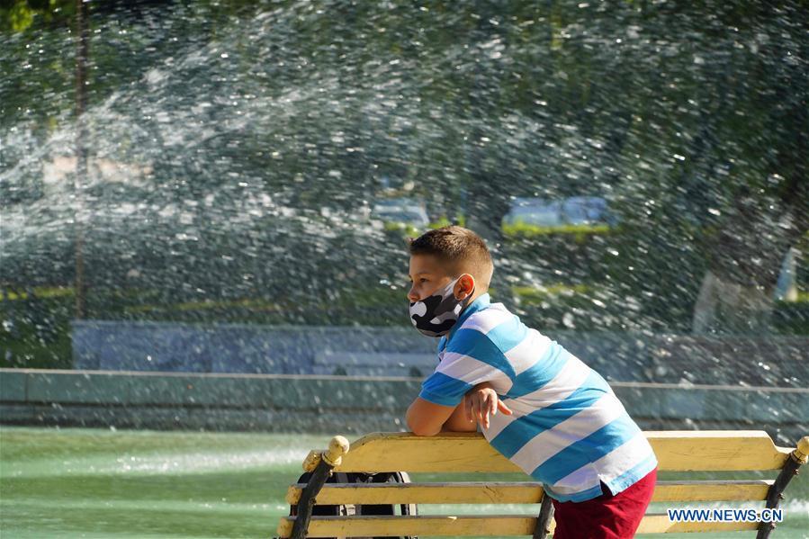 Uzbekistan's Tashkent witnesses high temperature weather