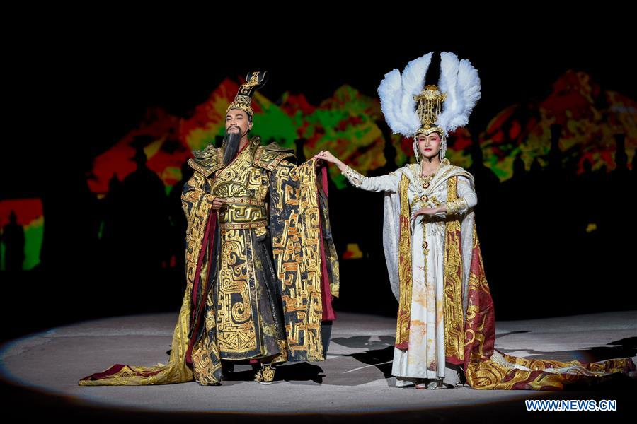 Musical inspired by ancient Chinese mythology staged in Urumqi, Xinjiang