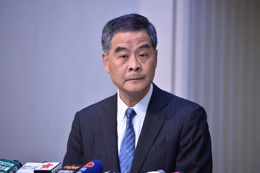Ex-HK leader urges HK to stand firm against threats