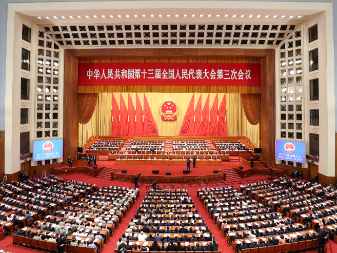 China's resolve displayed in 'two sessions' meets world's expectations