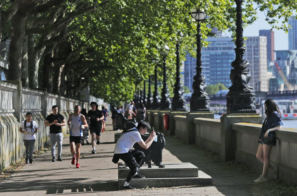 In lockdown easing, UK's Johnson says groups of 6 can meet
