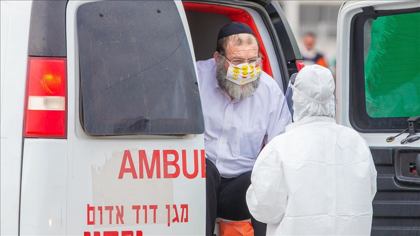 Israel reports 115 new COVID-19 cases