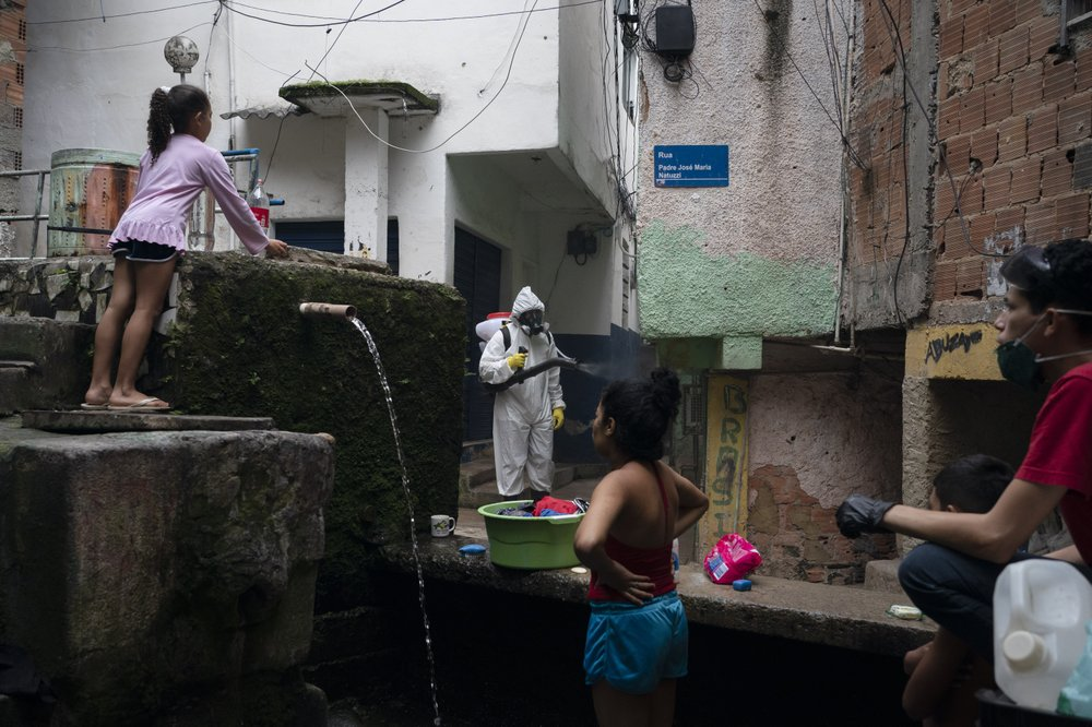 Latin America's slums facing losing battle against virus spread