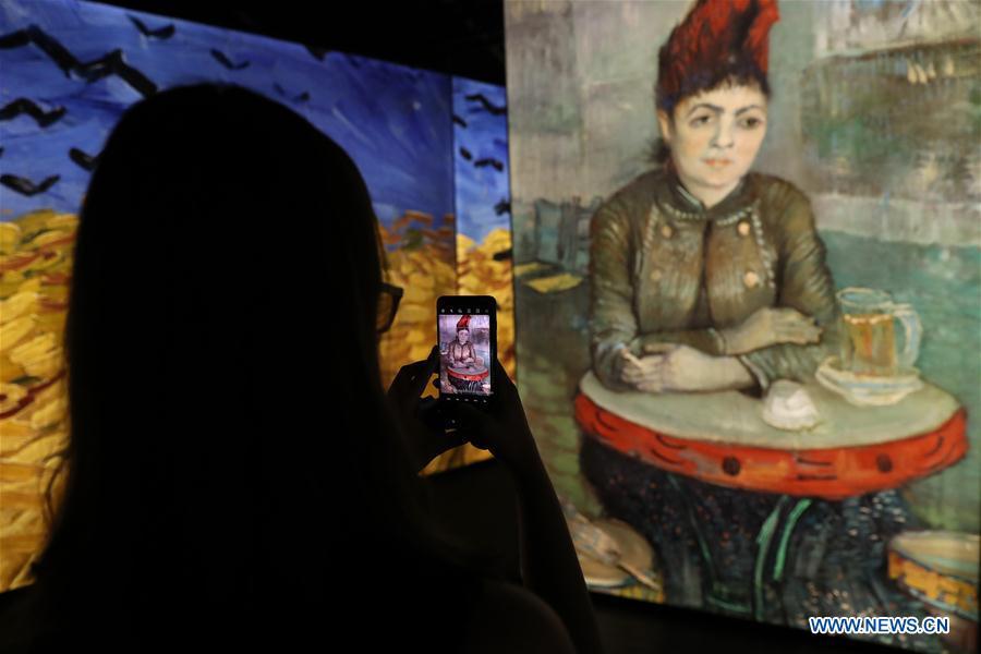 """Meet Vincent van Gogh"" exhibition to reopen to public in Lisbon"