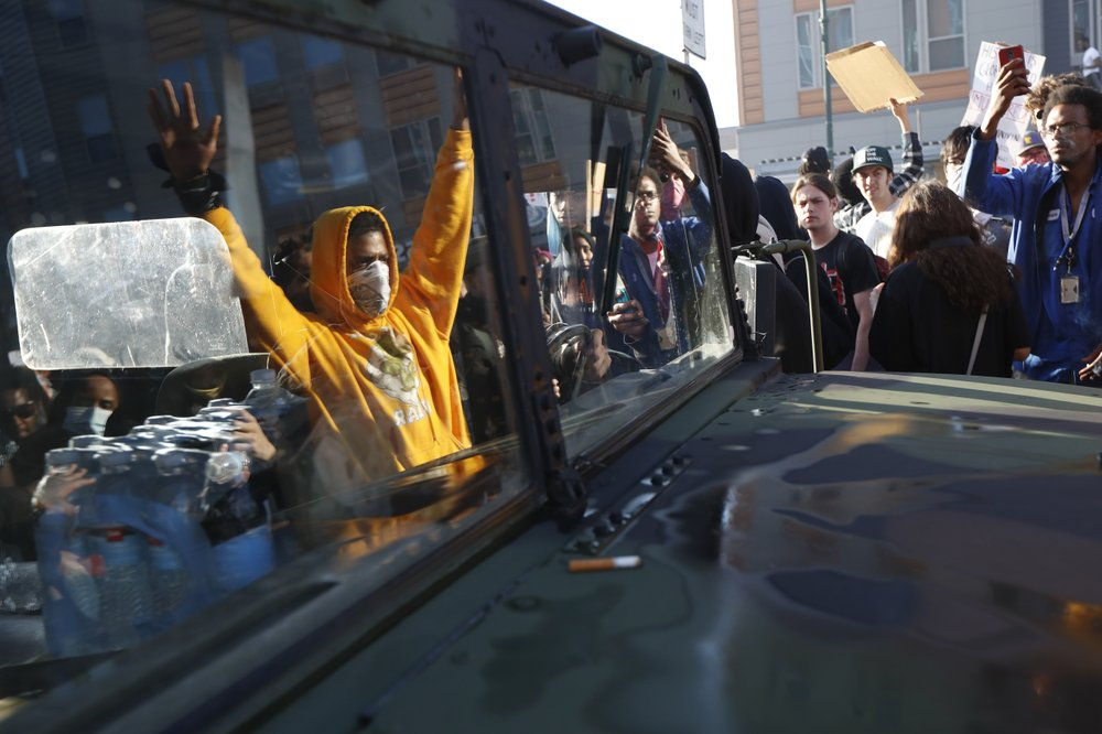 Some 200 arrested in violent protests in NYC over death of George Floyd