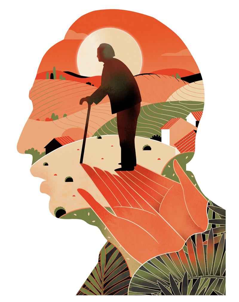 Concerted efforts needed to improve rural eldercare