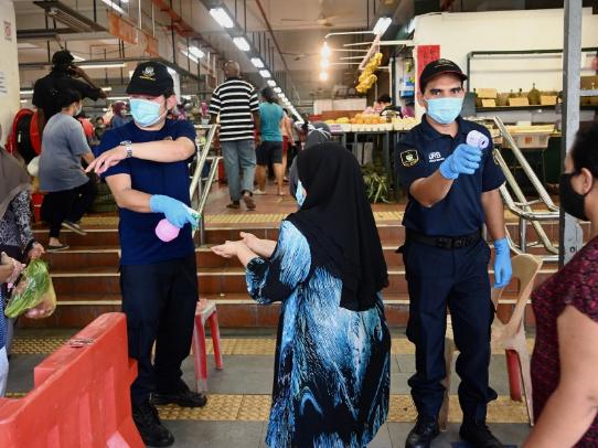 Malaysia reports 38 new coronavirus cases, bringing total to 7,857