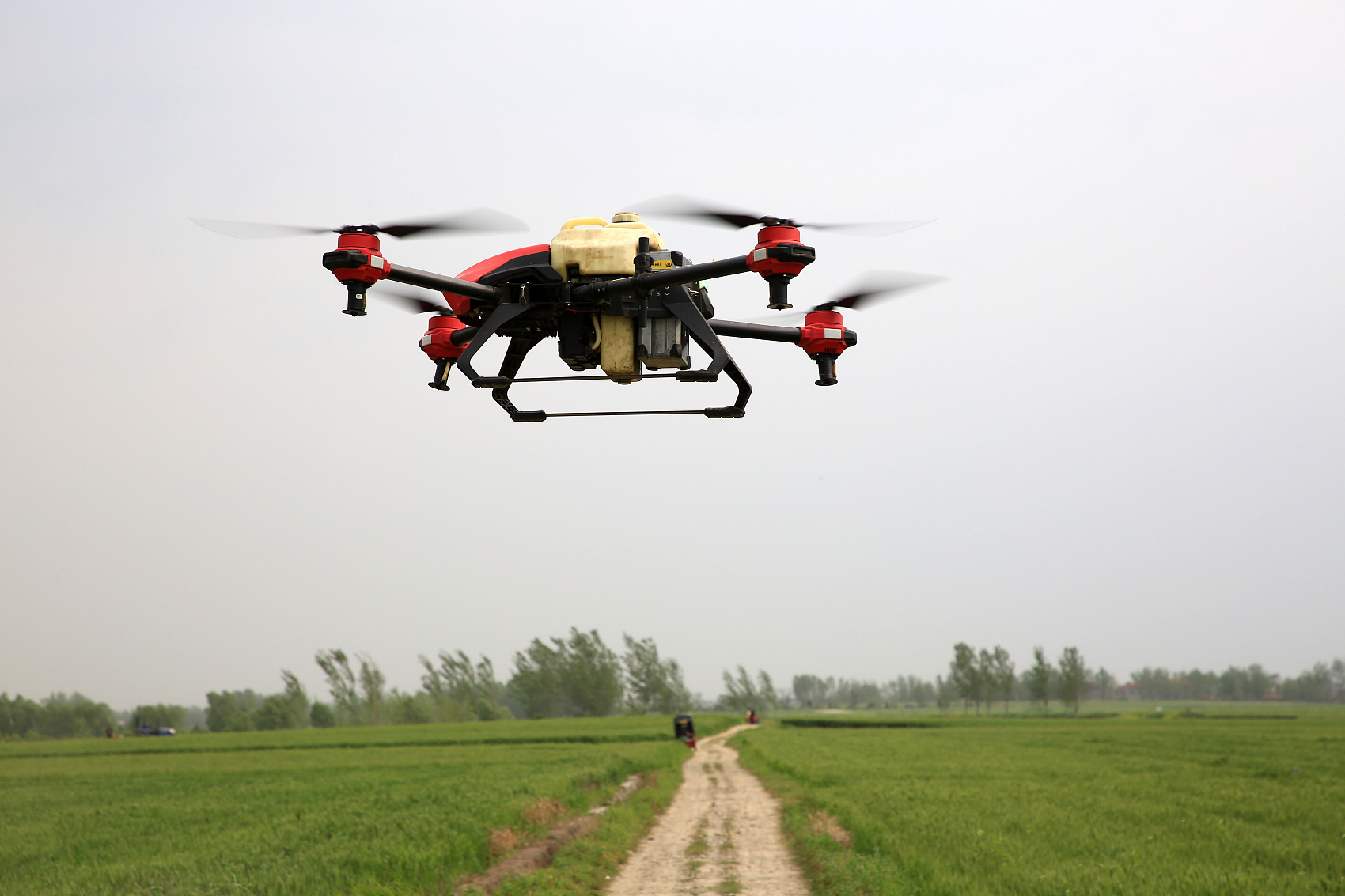 Drones give helping hand to farmers