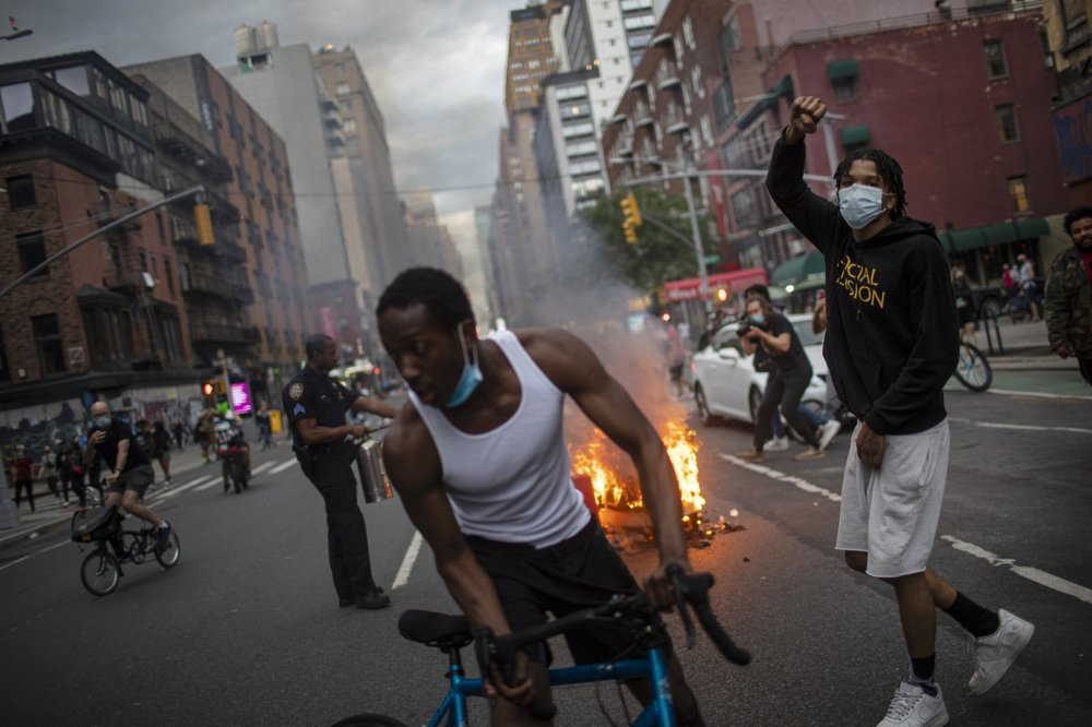 300 more in NYC arrested in George Floyd protests