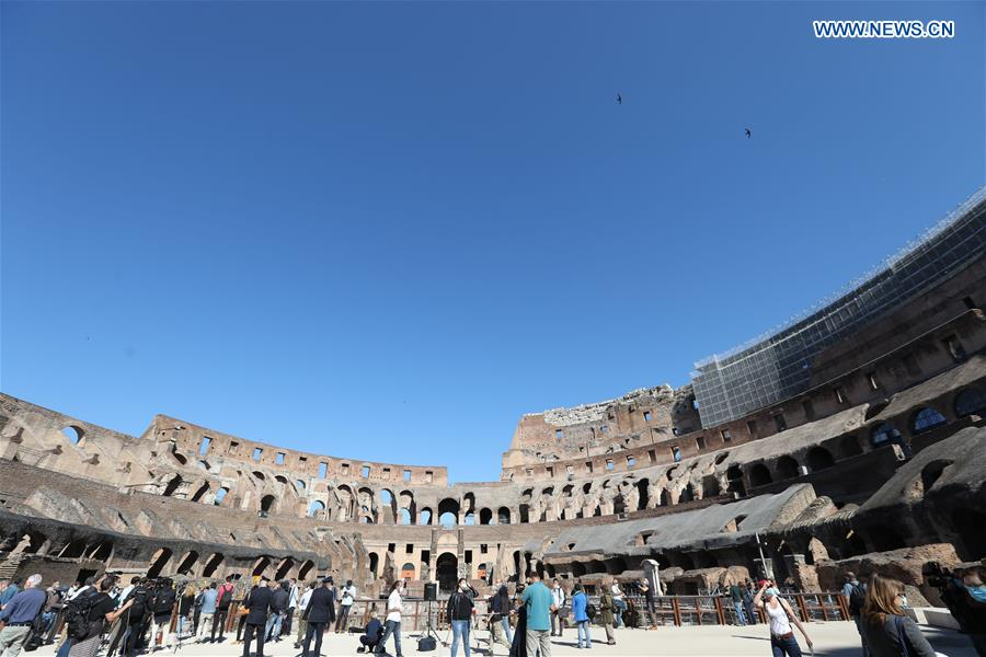 Colosseum monument in Rome reopens